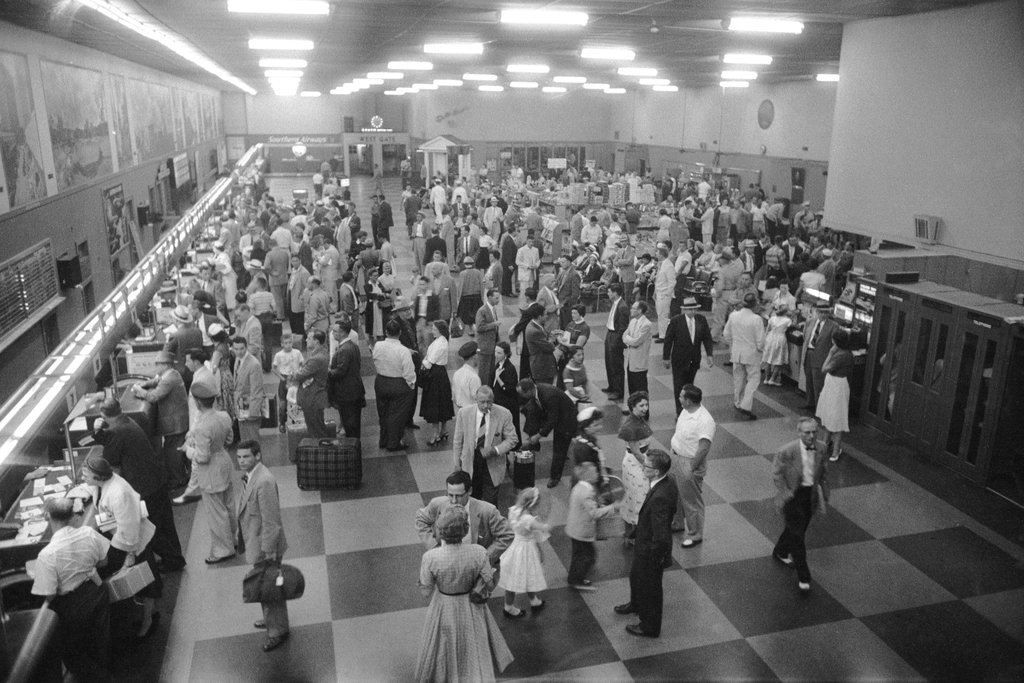 Airline Ticket Counters