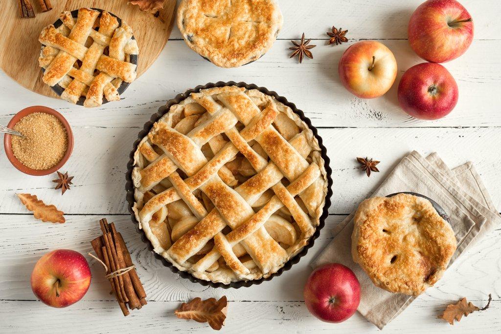 Homemade Apple Pies