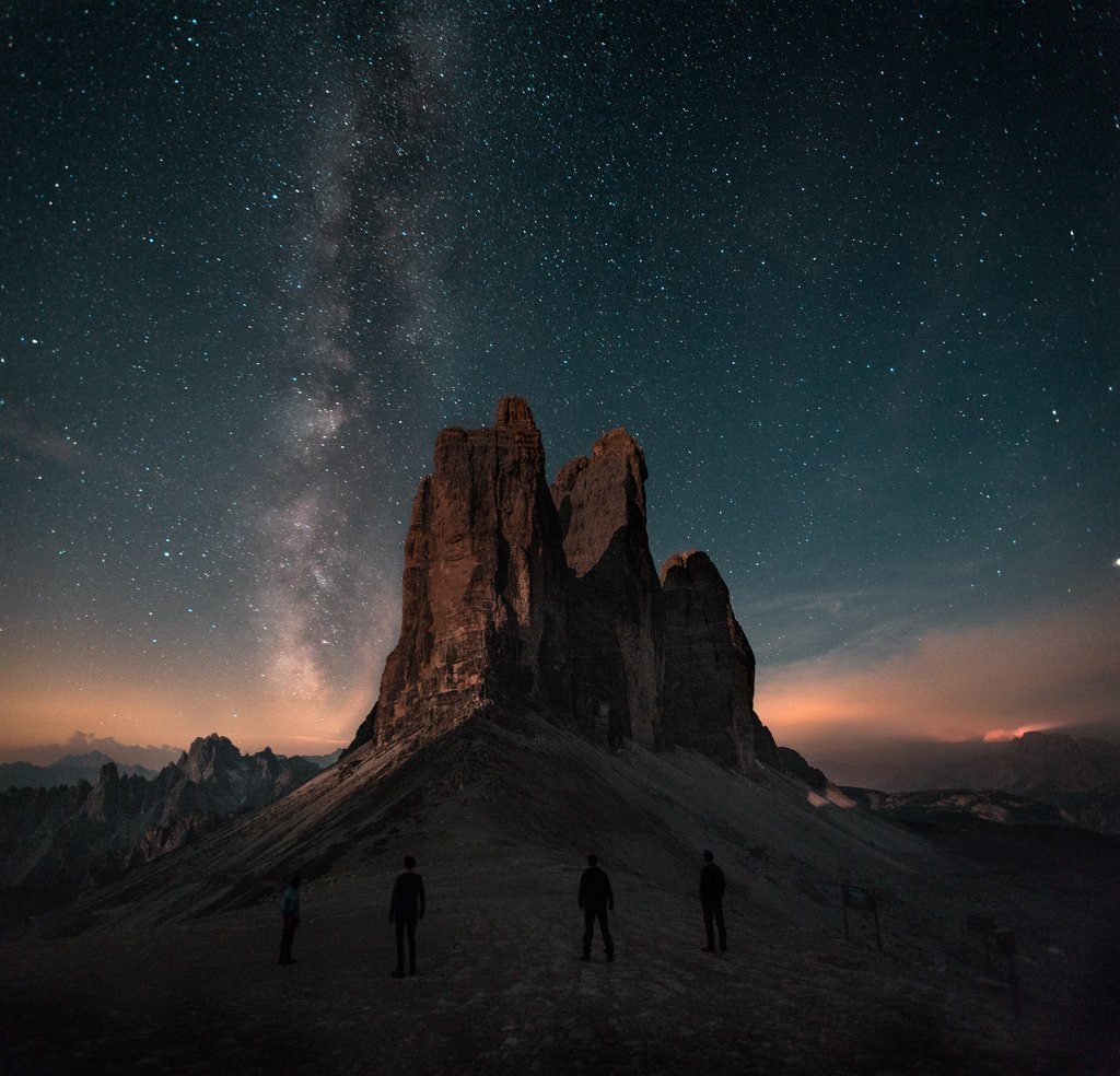 Mountain and Stars