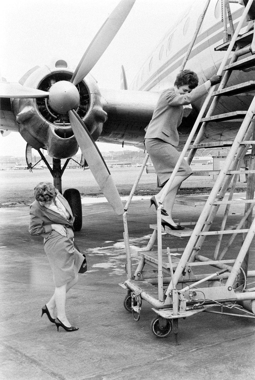 Stewardesses in Training