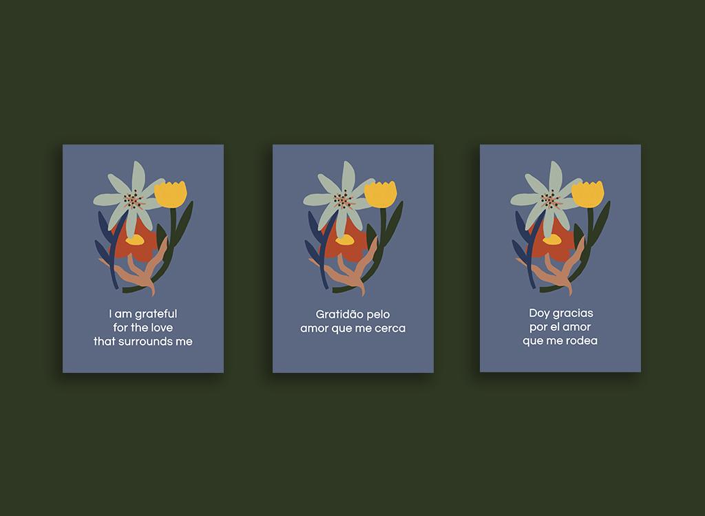 Gratitude Mantra Cards