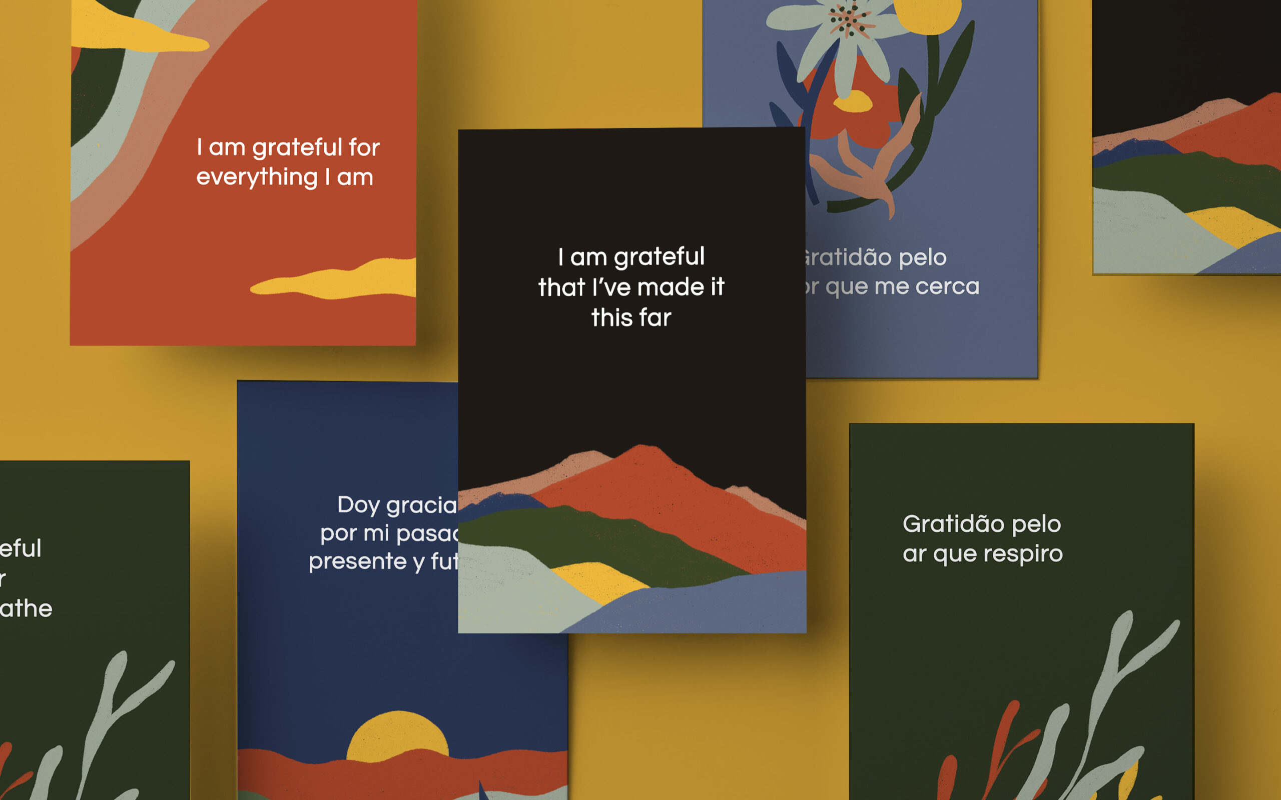 Give Thanks: FREE Gratitude Mantra Cards