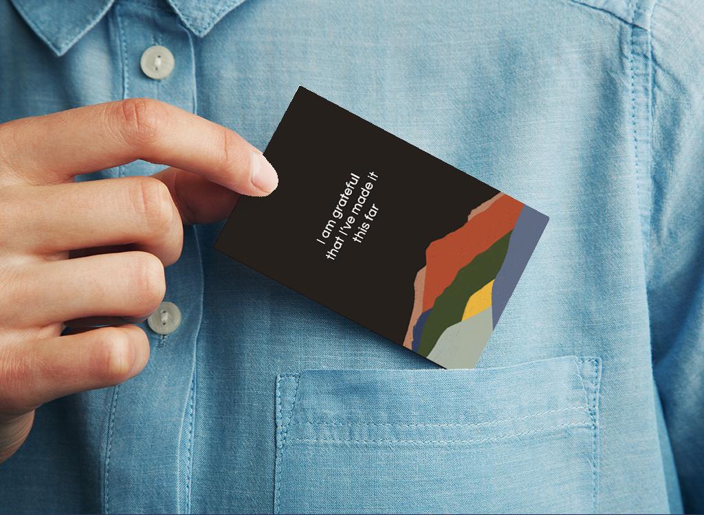 Pocket-Sized Cards