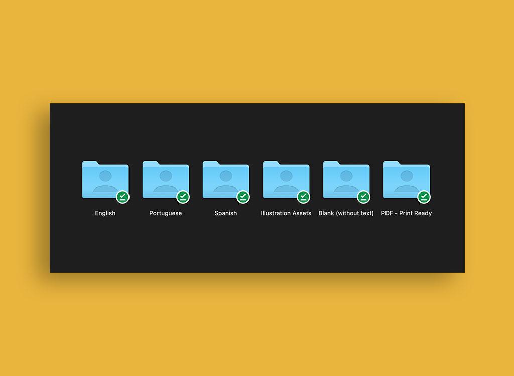 Gratitude Pack Folders